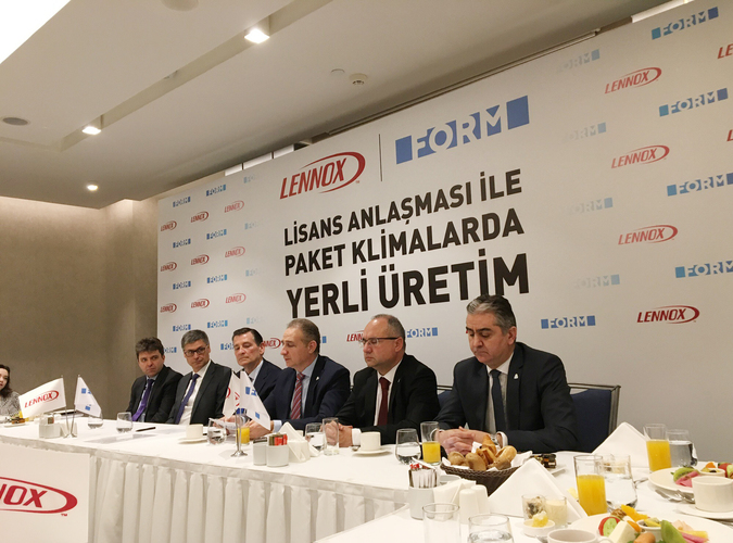 Made in Turkey By Form Under Licence Of Lennox